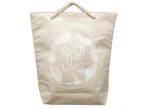 CANVAS-BUCKET (L)/OVER THE LIMIT Print ver. 販売終了