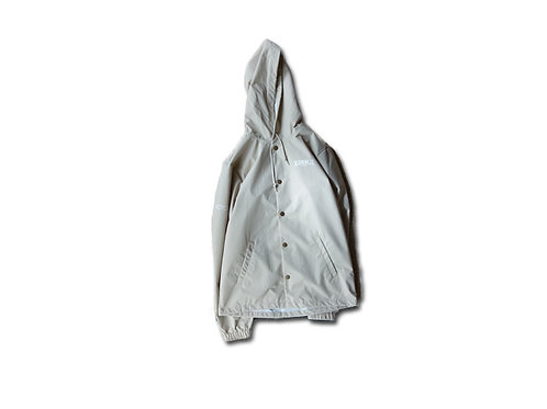 KOENJI EAST SIDE JACKET  (INDEPENDENT TRADING WATER RESISTANT COACH JACKET)/SAND