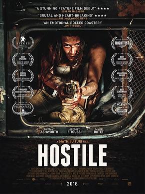 Hostile affiche / cover Hostile / poster Hostile / Full Time Films