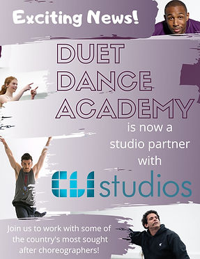 Duet Dance Academy is now partnered with