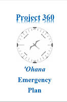 Project 360 Ohana Emergency Plan Booklet