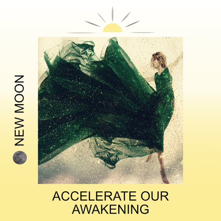 🌑 NEW MOON JULY 20TH IN CANCER: ACCELERATE OUR AWAKENING