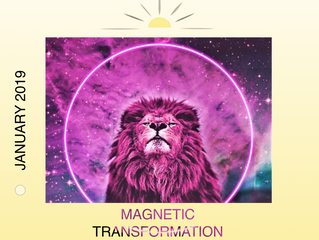 🌕 JANUARY 20/21 2019 - FULL BLOOD MOON IN LEO WITH TOTAL LUNAR ECLIPSE: MAGNETIC TRANSFORMATION