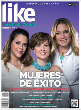 Portada para la Historia. Revista Like.