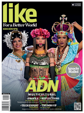 Revista LIKE for a Better World.