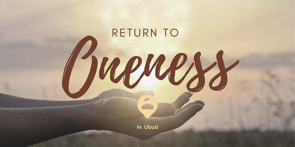 Return to Oneness - In Studio