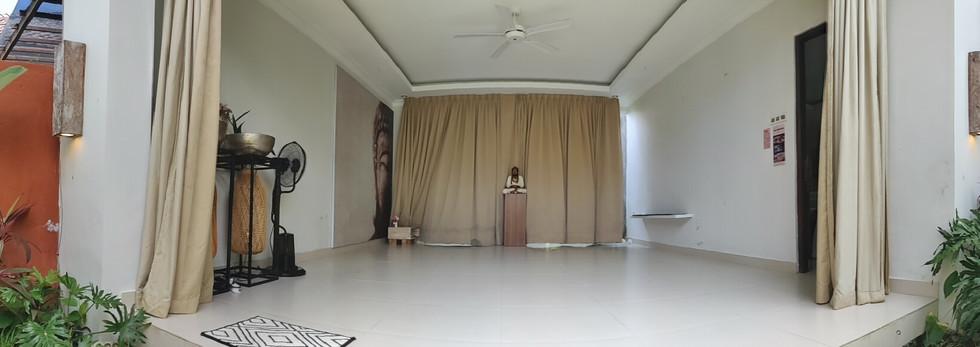 Panaormic view of studio