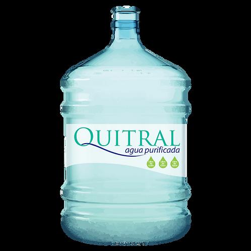 Recarga Agua Purificada  Botellón PET 20 Lts