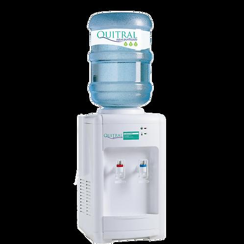 Arriendo Dispensador sobremesa Compresor + 4 bot/ Agua Fria 5°-10°/Caliente 95°
