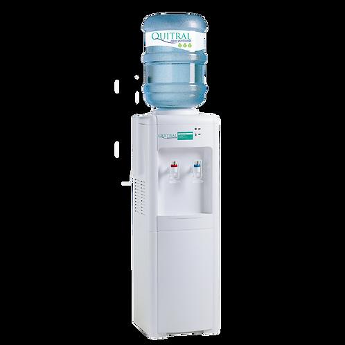 Arriendo Dispensador pedestal compresor +4 bot / Agua Fría 5°-10°/Caliente 95°