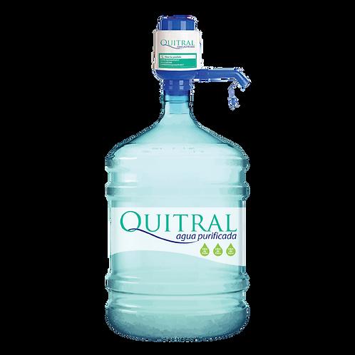 Bomba Manual + 1 Botellón Agua Purificada
