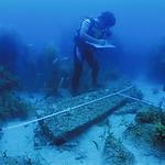前方湾海底調査「碇石」1.bmp