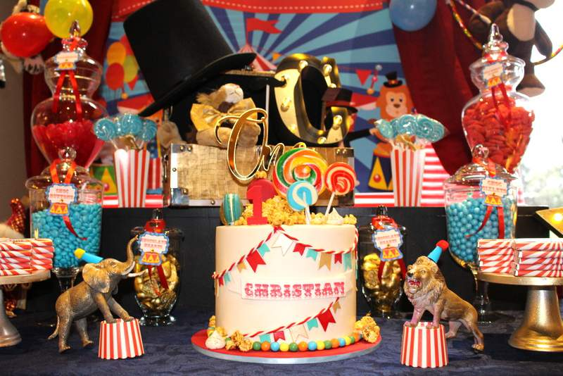 Circus First Birthday