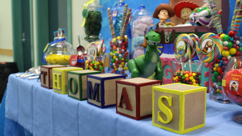 Toy Story themed First Birthday