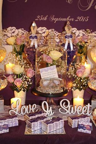 Wedding lolly buffet