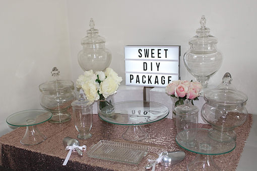 DIY lolly buffet package