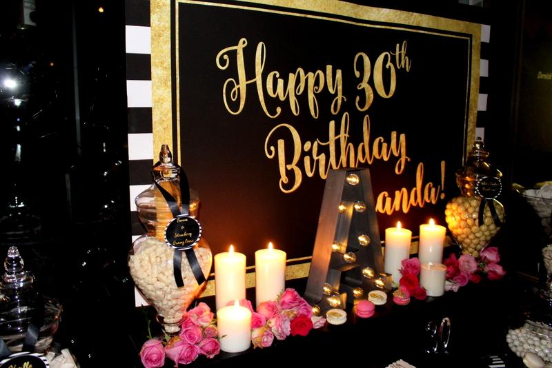 Glam 30th Birthday