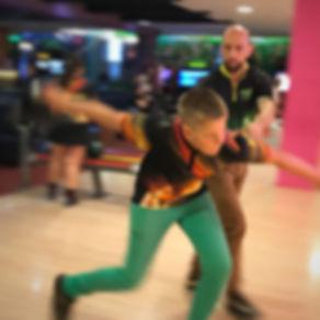 Детская тренировка по боулингу в Мореоне