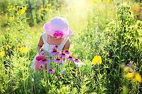 enfant dans l Nature