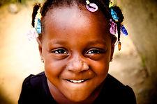 portrait enfant africaine