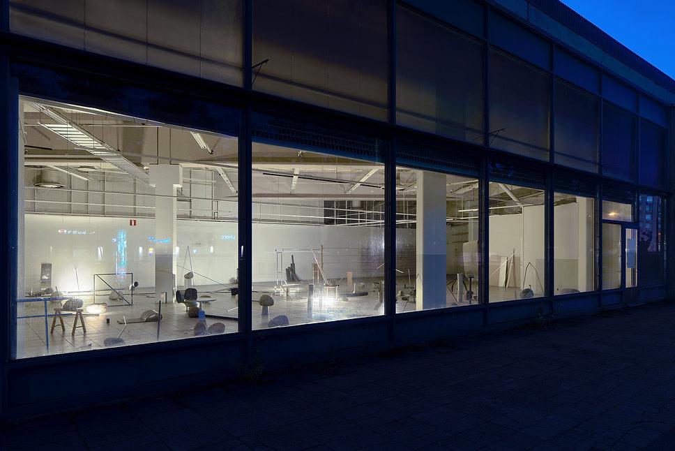 Outside view of the installation in Rauma Triennale_Tarvantori
