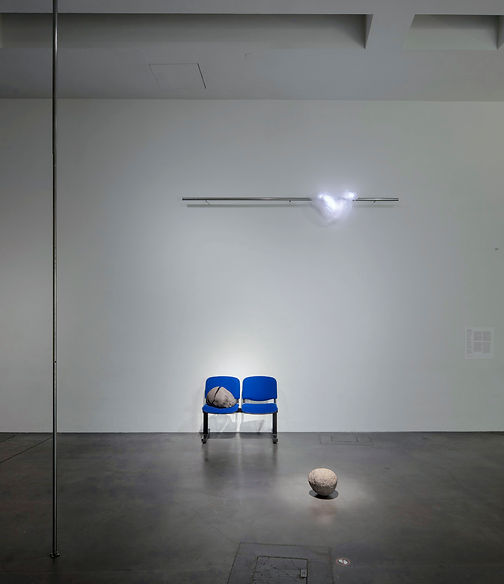 Time is out of joint installation view in Kiasma, Coexistence.