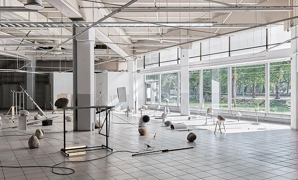 Installation in Tarvantori, Rauma
