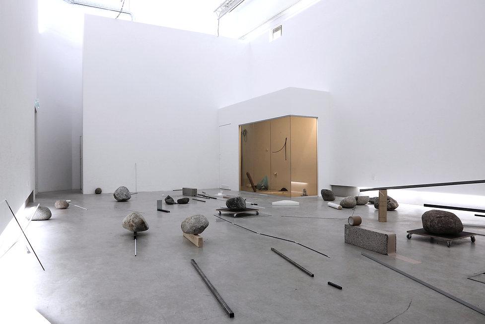 Installation in gallery Hippolyte