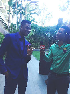 2/8/15: Interviewed by Rolling Out Magazine at Bryan-Michael Cox's Pre-Grammy Brunch in Beverly Hills, CA