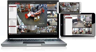 Adgang til din videoovervågning med IVMS 4200
