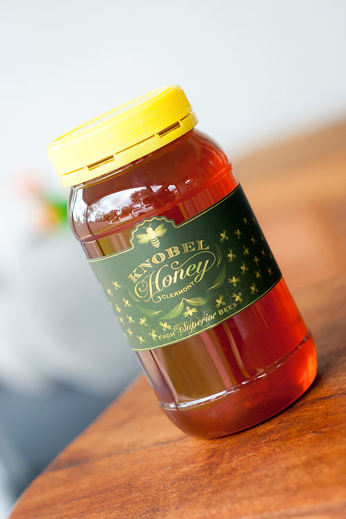 1kg Knobel Honey in a Plastic Bottle