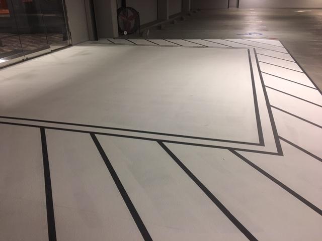 Crossroad Striping, RSA, Executive Deck A