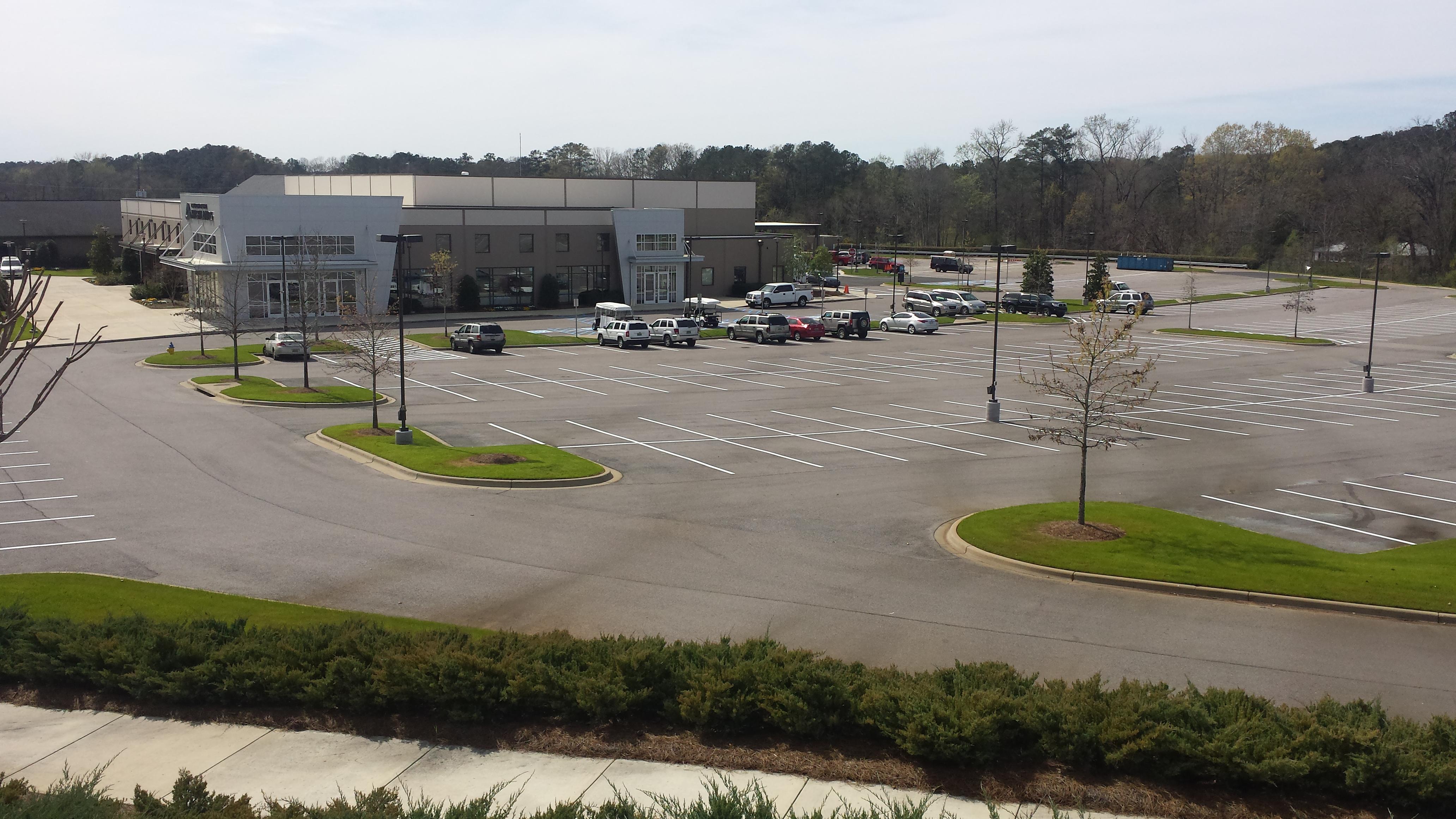 Striping | Asphalt Repair | Alabama