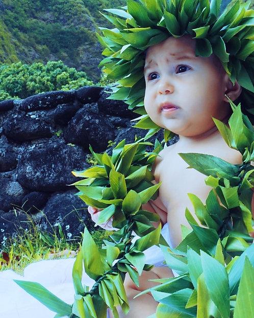 Ti leaf Haku Set