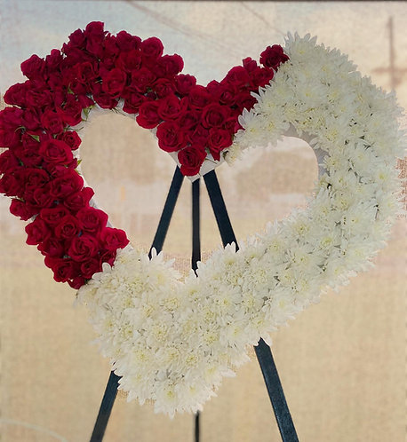 A Love of Roses Wreath