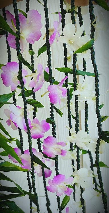 Floral Ti single lei