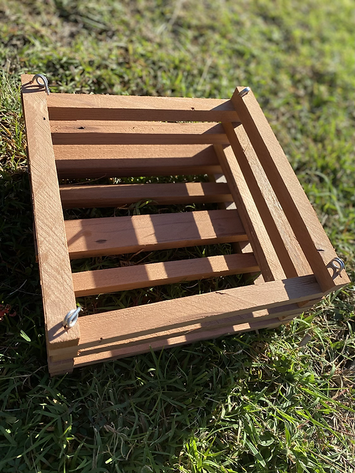 Red Wood Baskets