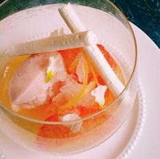 神戸レストラン オープニングデザートレシピ開発