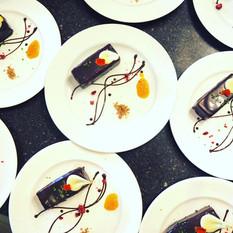 Event: 料理研究家 石井英代さんとのコラボランチコース テーマはスペイン。チョコレートを楽しめるデザート。
