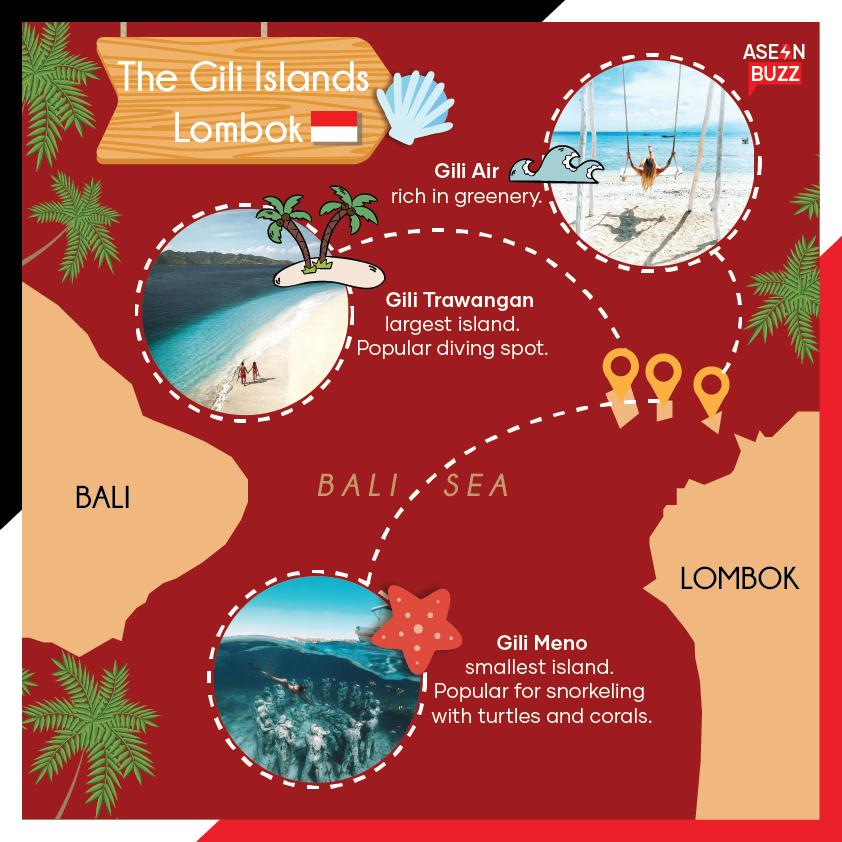 The Gili Islands Lombok Indonesia