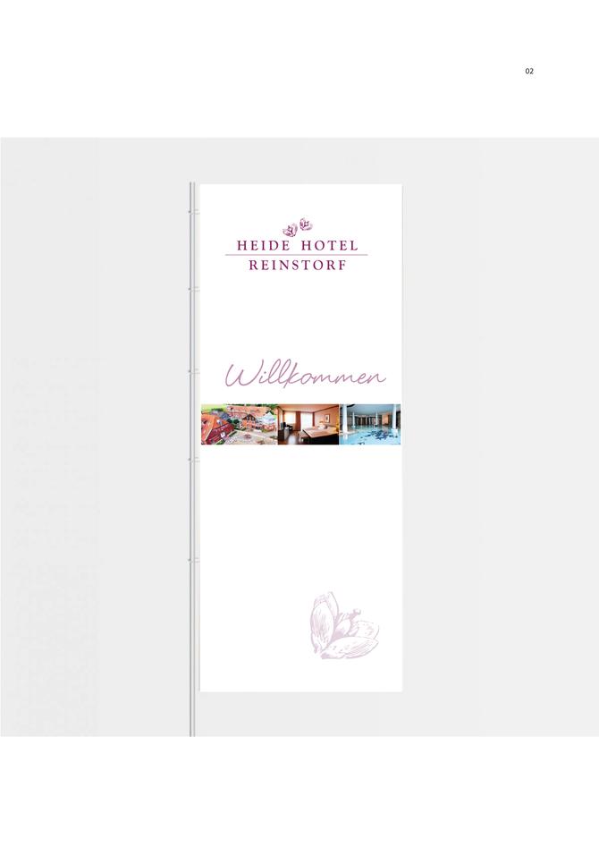 Corporate Design für ein Hotel
