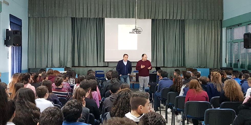 Incontro con gli studenti dell'IC Alberto Manzi di Torre de' Passeri