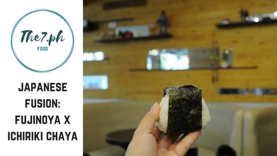 Japanese Food Now Available at Fujinoya by Ichiriki Chaya