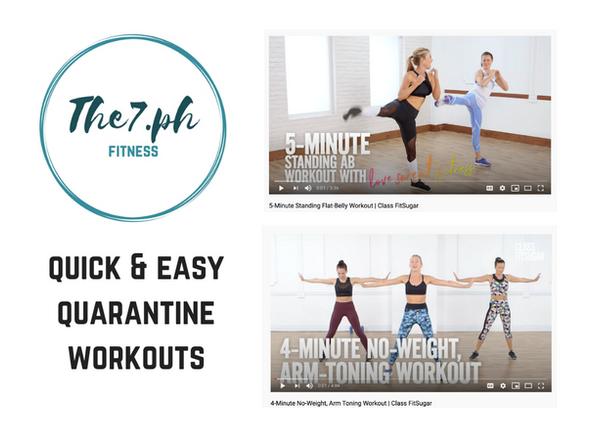 Quick & Easy Indoor Workouts