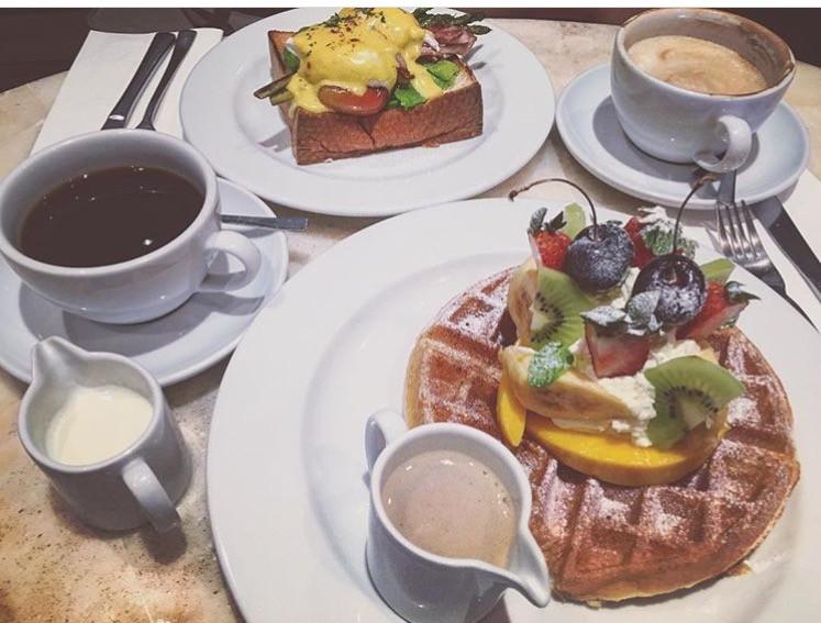 Brunch Cebu Places Abaca Baking Company Buttermilk Waffles