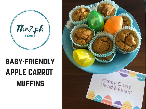 Baby Friendly Carrot Muffins