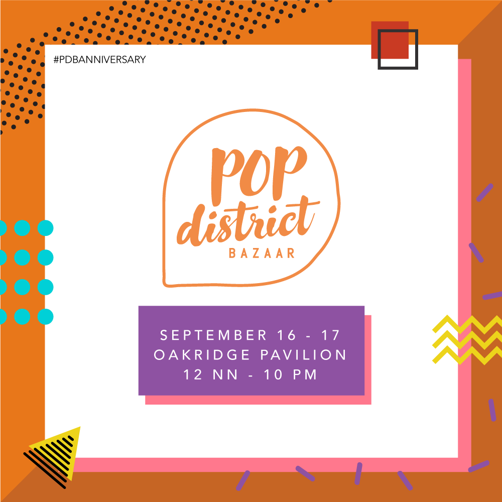 Pop District Bazaar Turns 2 This Year!