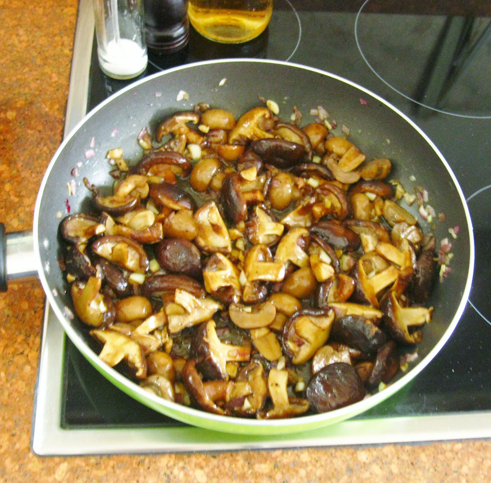 A Delicious Dish Perfect For Lent : Mushroom Salpicao