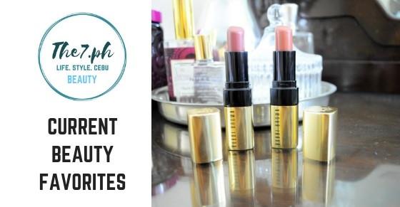 Current Beauty Favorites - Last Quarter of 2018