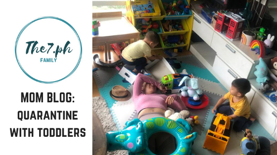 Tips for Surviving Quarantine with Toddlers